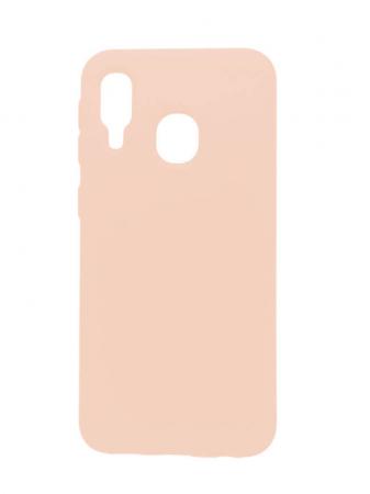 Husa Samsung Galaxy A40 2019 Roz Silicon Slim protectie Premium Carcasa [0]