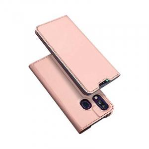 Husa Samsung Galaxy A40 2019 Roz Toc Piele Eco Premium DuxDucis Portofel Flip Cover Magnetic [0]