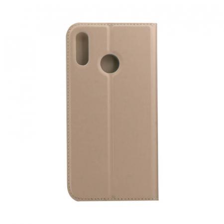 Husa Flip Samsung Galaxy A40 Tip Carte Auriu Focus1