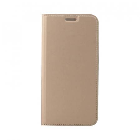 Husa Flip Samsung Galaxy A40 Tip Carte Auriu Focus0