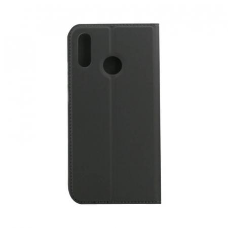 Husa Flip Samsung Galaxy A40 Tip Carte Negru Focus2