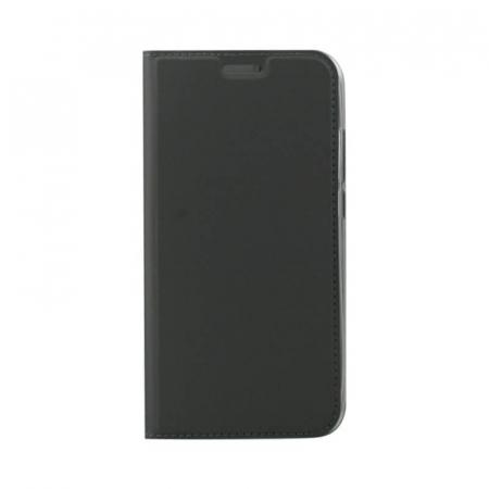 Husa Flip Samsung Galaxy A40 Tip Carte Negru Focus0