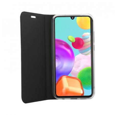 Husa Flip Samsung Galaxy A41 Tip Carte Negru Focus [2]