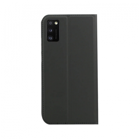Husa Flip Samsung Galaxy A41 Tip Carte Negru Focus [1]