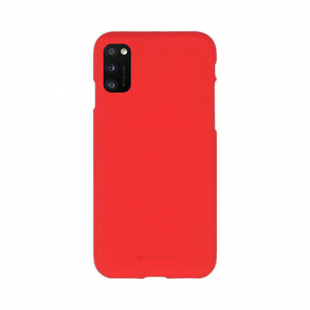 Husa Samsung Galaxy A41 Rosu Jelly Soft0