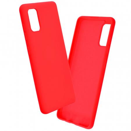 Husa Samsung Galaxy A41 Rosu Silicon Slim Koff