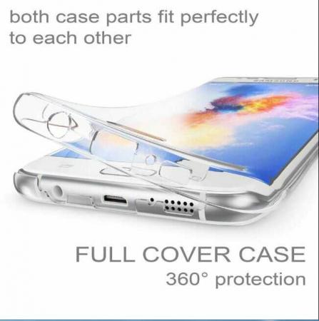 Husa Samsung Galaxy A51 360 Grade Silicon Fata Spate Transparenta2