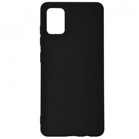 Husa Samsung Galaxy A51 Negru Silicon Slim protectie Premium Carcasa3
