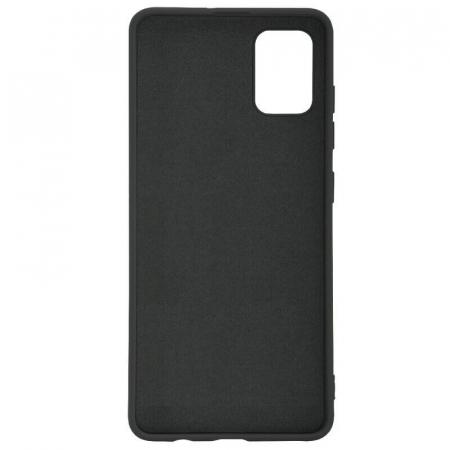 Husa Samsung Galaxy A51 Negru Silicon Slim protectie Premium Carcasa1