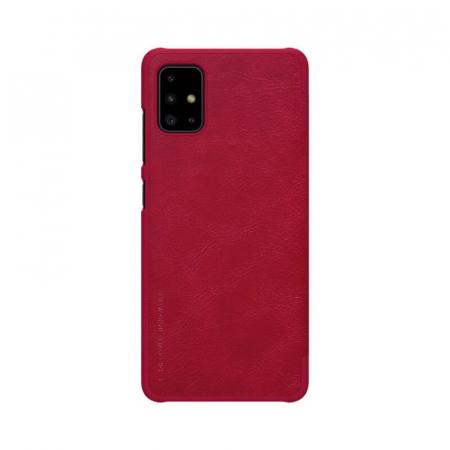 Husa Flip Samsung Galaxy A51 Rosu Tip Carte Magnetica Nillkin Qin [2]