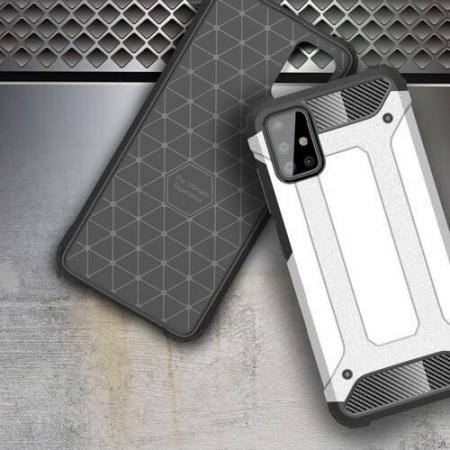 Husa Samsung Galaxy A51 Silicon Antisoc Negru Hybrid Armor [5]