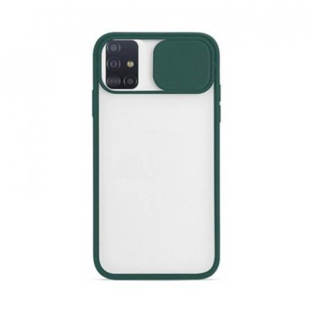 Husa Samsung Galaxy A51 Verde Silicon Antisoc Kia
