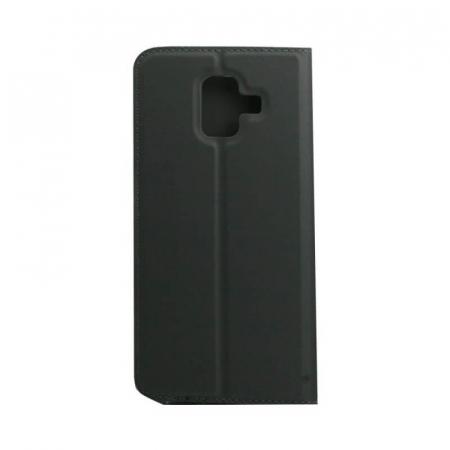 Husa Flip Samsung Galaxy A6 2018 Tip Carte Negru Focus [2]