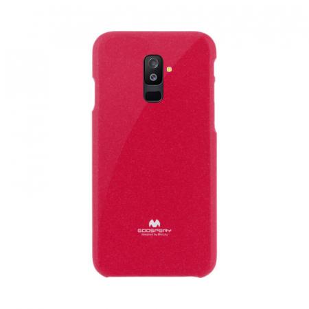 Husa Samsung Galaxy A6 Plus 2018 Rosu Mercury Jelly0