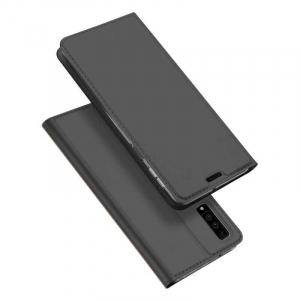 Husa Flip Samsung Galaxy A7 Tip Carte Negru Skin DuxDucis4