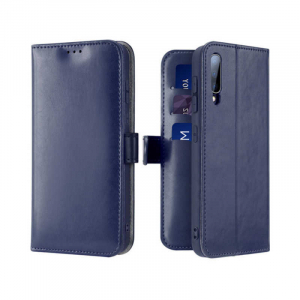 Husa Flip Samsung Galaxy A70 Albastru Piele Ecologica Tip Carte Kado0