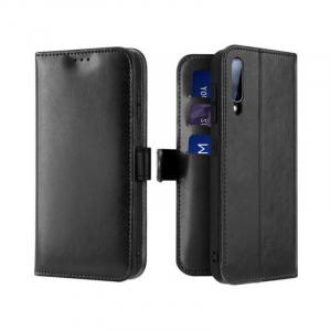Husa Samsung Galaxy A70 2019 Toc Flip Tip Carte Portofel Negru Piele Eco Premium DuxDucis Kado [0]