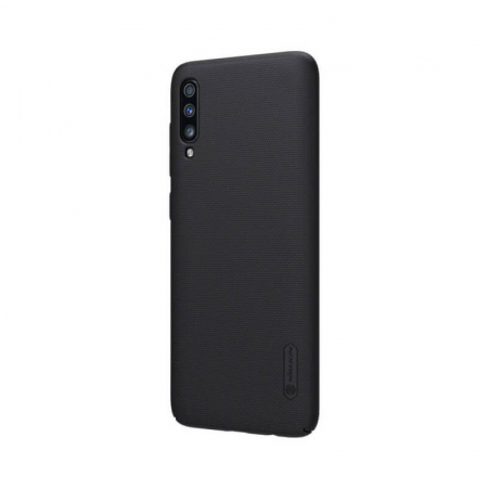 Husa Silicon Samsung Galaxy A70 Negru Nillkin Frosted [2]