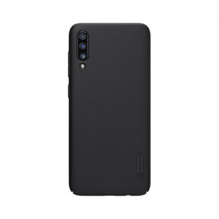 Husa Silicon Samsung Galaxy A70 Negru Nillkin Frosted [0]