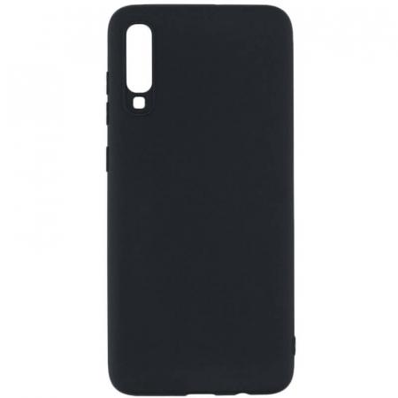 Husa Samsung Galaxy A70 Negru Silicon Slim protectie Premium Carcasa0