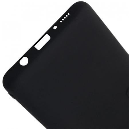 Husa Samsung Galaxy A70 Negru Silicon Slim protectie Premium Carcasa3