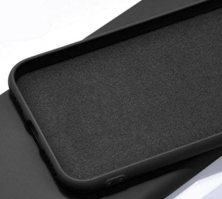 Husa Samsung Galaxy A70 Negru Silicon Slim protectie Premium Carcasa1