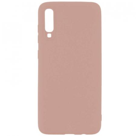 Husa Samsung Galaxy A70 Roz Silicon Slim protectie Premium Carcasa0
