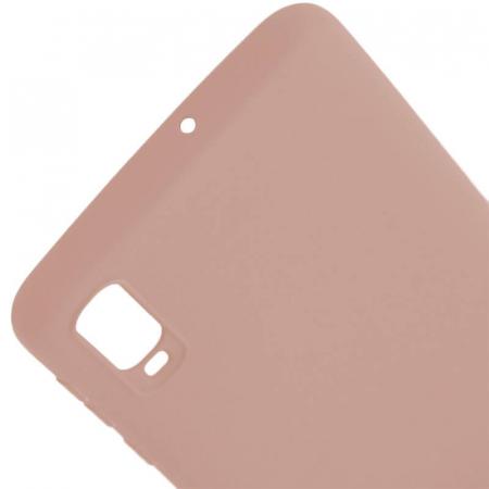 Husa Samsung Galaxy A70 Roz Silicon Slim protectie Premium Carcasa2