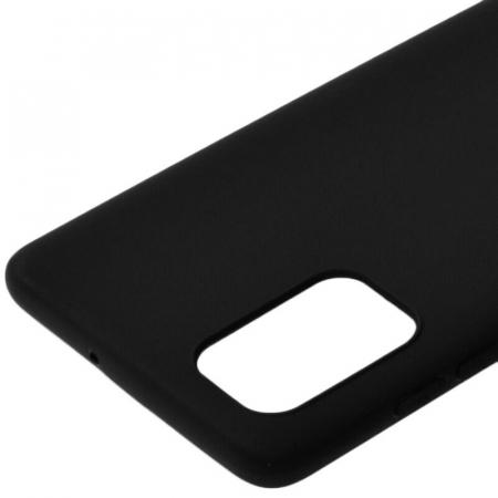 Husa Samsung Galaxy A71 2020 Negru Silicon Slim protectie Carcasa1