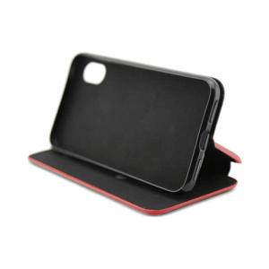 Husa Samsung Galaxy A71 2020 Rosu Tip Carte /Toc Flip din Piele Ecologica Portofel cu Inchidere Magnetica [2]