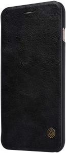 Husa Samsung Galaxy A71 2020 Negru Toc Flip Nillkin Qin Piele Eco Premium Tip Carte Portofel3