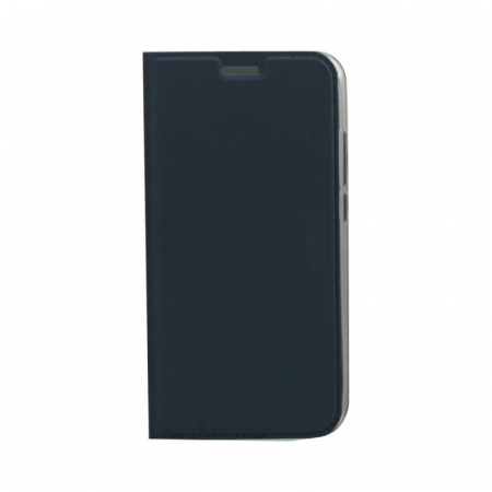 Husa Flip Samsung Galaxy A71 Tip Carte Albastru Focus0