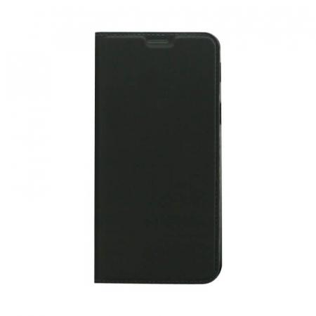 Husa Flip Samsung Galaxy A8 2018 Tip Carte Negru Focus [0]