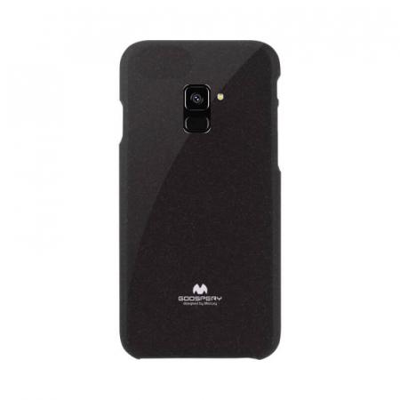Husa Samsung Galaxy A8 2018 Negru Mercury Jelly0