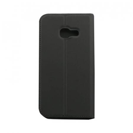 Husa Flip Samsung Galaxy J4 Plus 2018 Tip Carte Negru Focus2