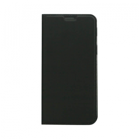 Husa Flip Samsung Galaxy J4 Plus 2018 Tip Carte Negru Focus0