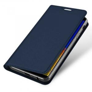 Husa Flip Samsung Galaxy J4 Plus 2018 Tip Carte Bleumarin Skin DuxDucis3