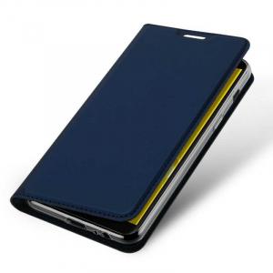 Husa Flip Samsung Galaxy J6 2018 Tip Carte Bleumarin Skin DuxDucis3