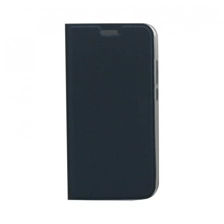 Husa Flip Samsung Galaxy J6 Plus 2018 Tip Carte Albastru Focus0