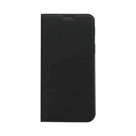 Husa Flip Samsung Galaxy J6 Plus 2018 Tip Carte Negru Focus0