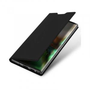 Husa Flip Samsung Galaxy Note 10 Tip Carte Negru Skin DuxDucis3