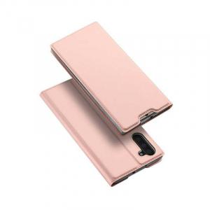 Husa Samsung Galaxy Note 10 2019 Toc Flip Portofel Roz Piele Eco DuxDucis [4]