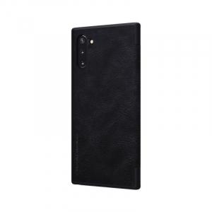 Husa Samsung Galaxy Note 10 Plus 2019 Negru Toc Flip Nillkin Qin Piele Eco Premium Tip Carte Portofel6