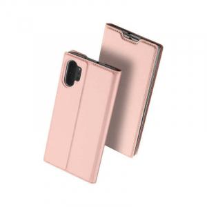 Husa Flip Samsung Galaxy Note 10 Plus Tip Carte Roz Skin DuxDucis0