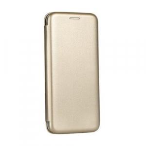 Husa Samsung Galaxy Note 9 Tip Carte Flip Cover din Piele Ecologica Auriu Portofel cu Inchidere Magnetica (Gold)0
