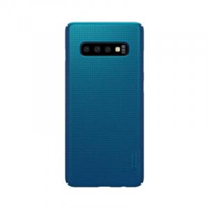 Husa Samsung Galaxy S10 2019 Carcasa Spate Albastru Premium Nillkin Frosted [0]