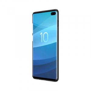 Husa Silicon Samsung Galaxy S10 Negru Nillkin Frosted3