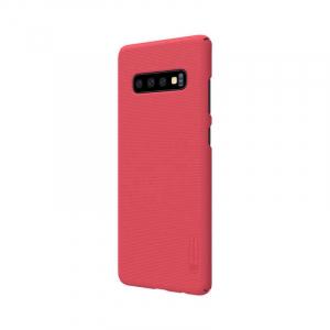 Husa Samsung Galaxy S10 2019 Carcasa Spate Roz Premium Nillkin Frosted2