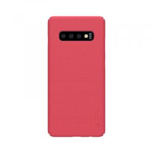 Husa Samsung Galaxy S10 2019 Carcasa Spate Roz Premium Nillkin Frosted0