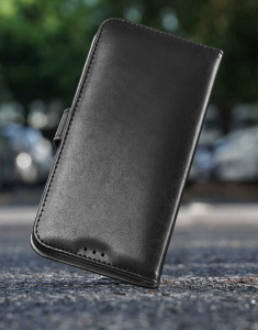 Husa Samsung Galaxy S10 Plus 2019 Toc Flip Tip Carte Portofel Negru Piele Eco Premium DuxDucis Kado [5]